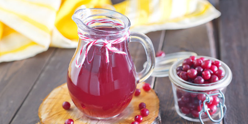 Unsweetened cranberry juice