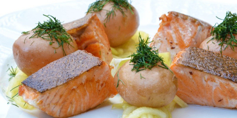 salmon fatty foods Vitamin D