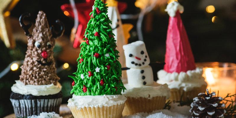 Christmas cupcakes diet ostomates